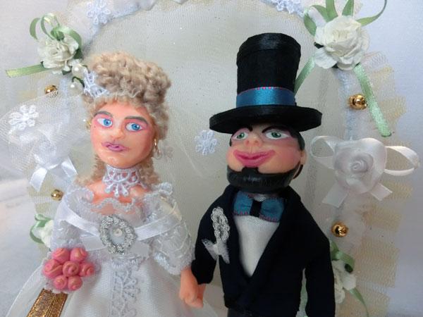 Купить свадебные куклы