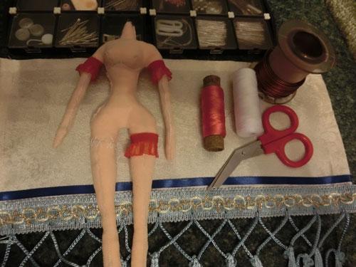 сшить куклу мастер класс